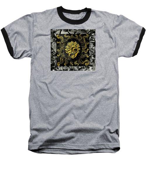 Baseball T-Shirt featuring the photograph Golden God by Nareeta Martin