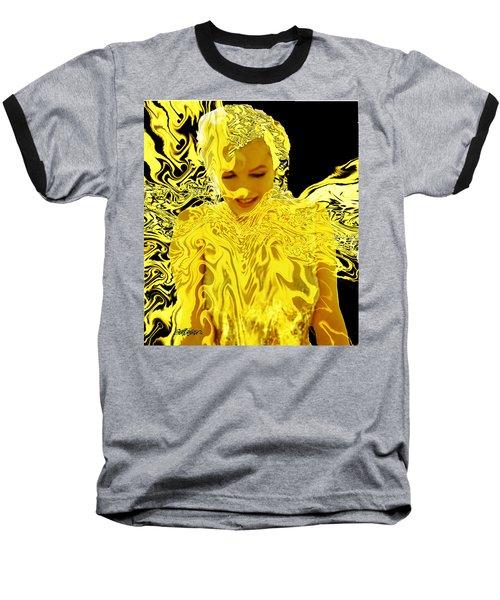 Golden Goddess Baseball T-Shirt