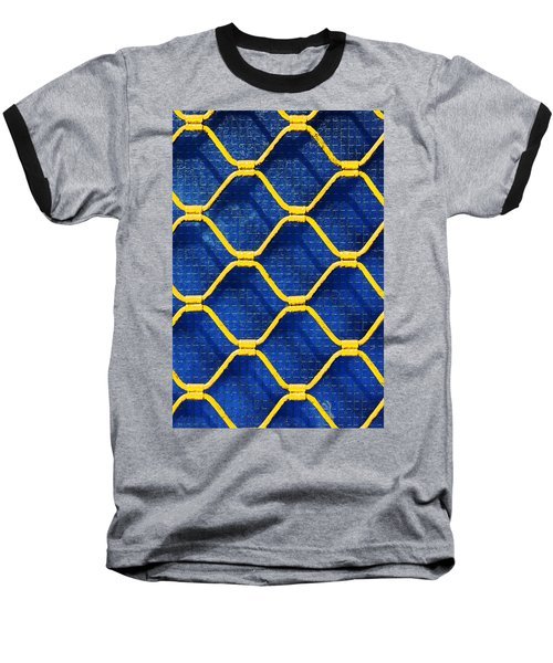 Grilled Rolling Shutters In Shop Baseball T-Shirt