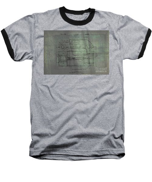 Harleigh Holmes Automobile Patent From 1932 Baseball T-Shirt