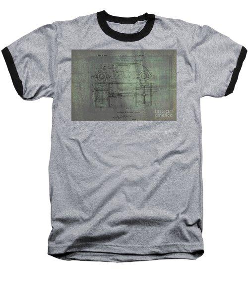 Harleigh Holmes Original Automobile Patent  Baseball T-Shirt