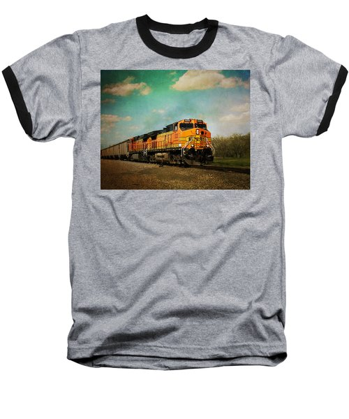 Hear The Train A Coming Baseball T-Shirt