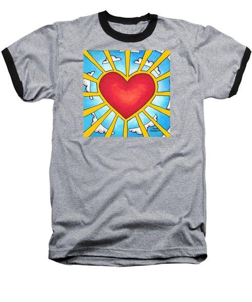 Heart Shine Baseball T-Shirt