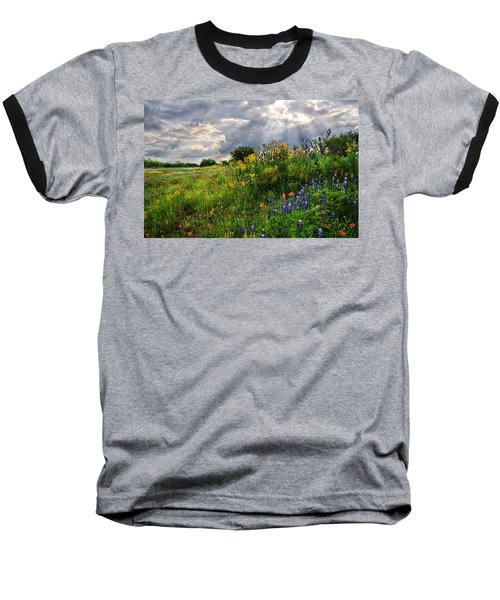 Heaven's Light  Baseball T-Shirt by Lynn Bauer