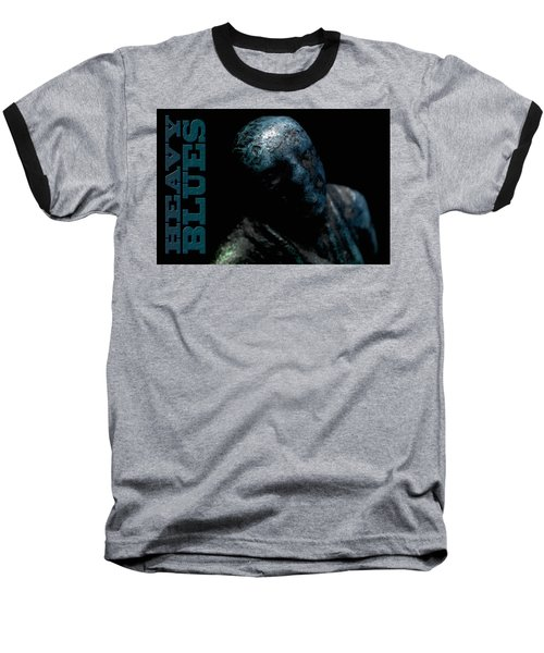 Baseball T-Shirt featuring the photograph Heavy Blues by WB Johnston