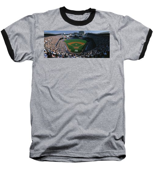 High Angle View Of A Baseball Stadium Baseball T-Shirt