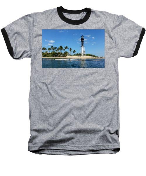Hillsboro Inlet Lighthouse Baseball T-Shirt