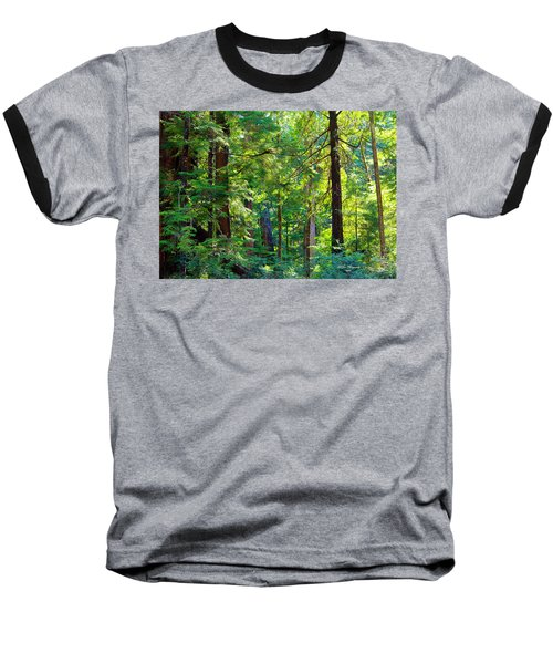 Hoh Rain Forest Baseball T-Shirt