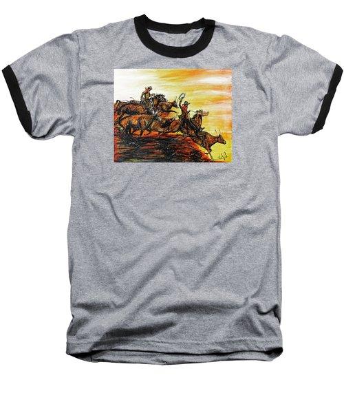 Hol-ly Cow Baseball T-Shirt