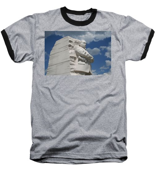 Baseball T-Shirt featuring the photograph Honoring Martin Luther King by Cora Wandel