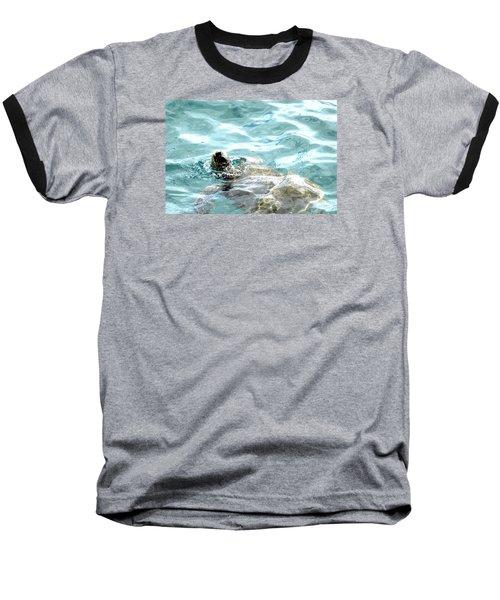 Kamakahonu, The Eye Of The Honu  Baseball T-Shirt