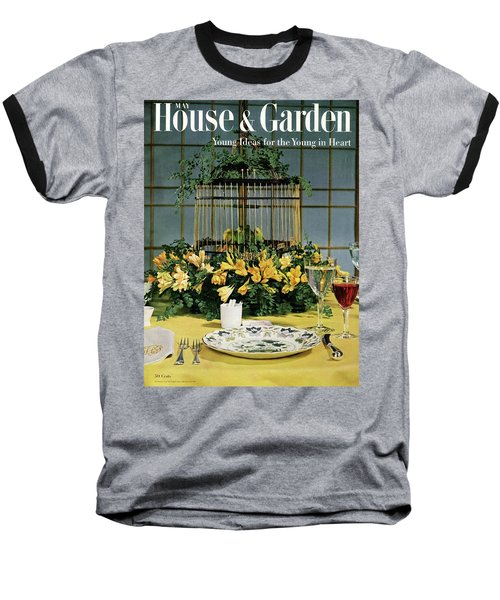 House And Garden Cover Baseball T-Shirt