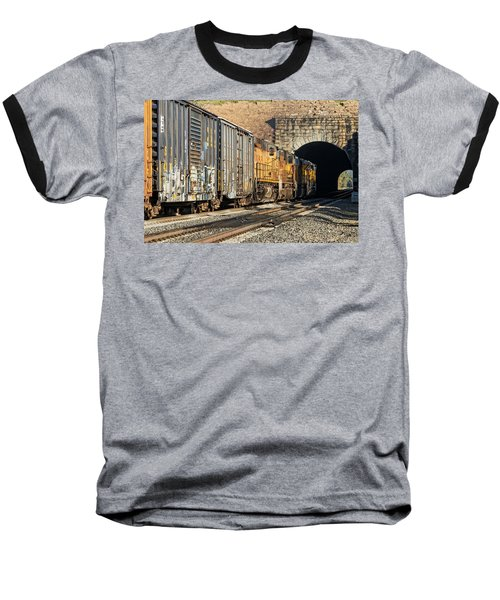 Baseball T-Shirt featuring the photograph Hp 8717 by Jim Thompson