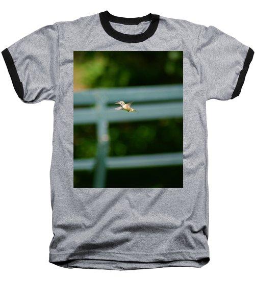 Hummer In Flight Baseball T-Shirt