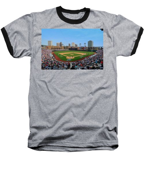 D24w-299 Huntington Park Photo Baseball T-Shirt