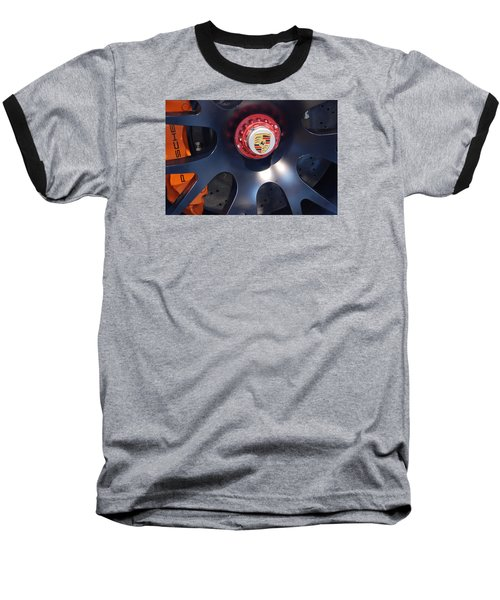 Hybrid Wheel  Baseball T-Shirt by John Schneider