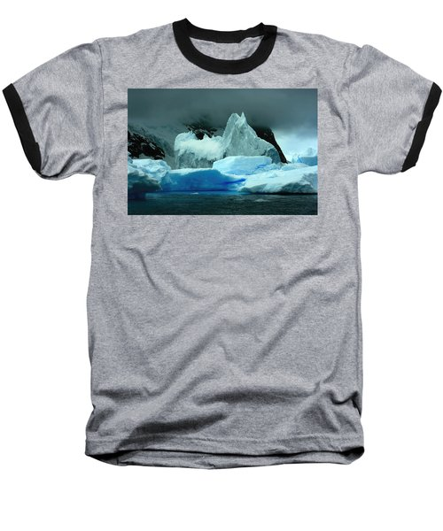 Baseball T-Shirt featuring the photograph Iceberg by Amanda Stadther