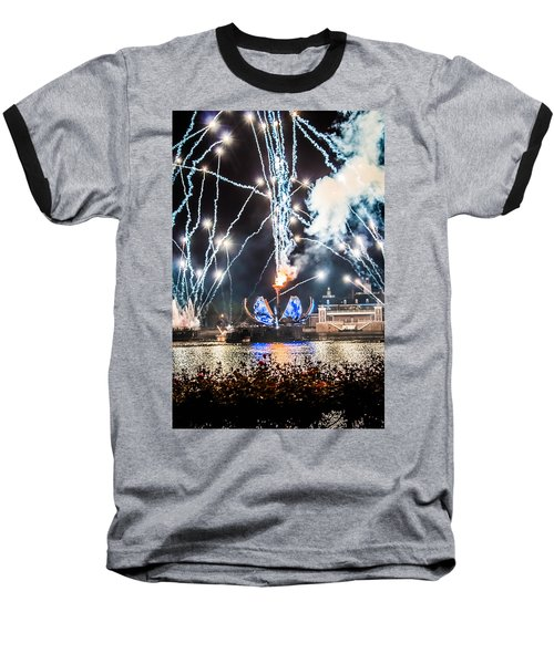 Illuminations Baseball T-Shirt by Sara Frank