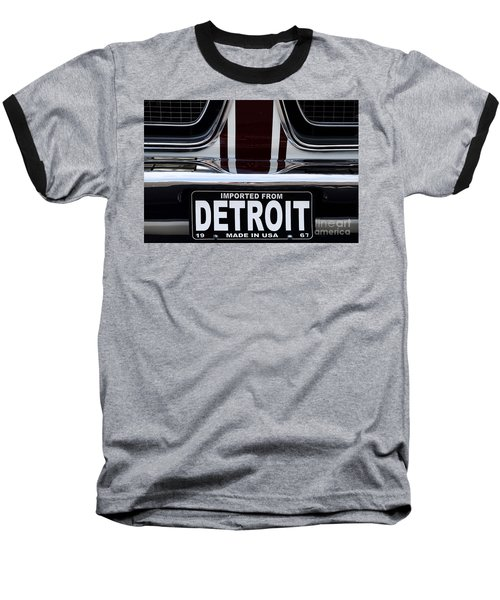 Imported From Detroit Baseball T-Shirt by Dennis Hedberg