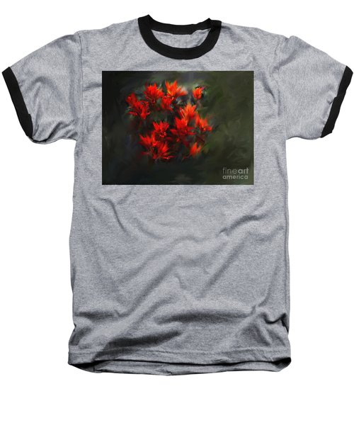 Indian Paintbrush Baseball T-Shirt