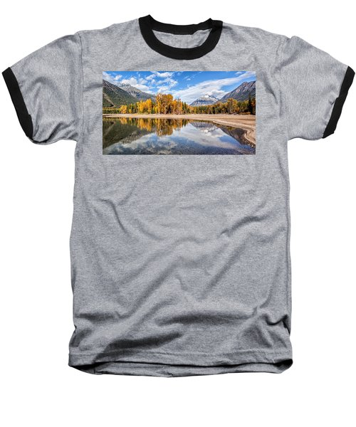 Into The Wild Baseball T-Shirt by Aaron Aldrich