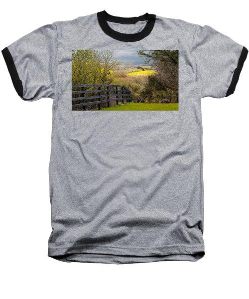 Irish Countryside In Spring Baseball T-Shirt