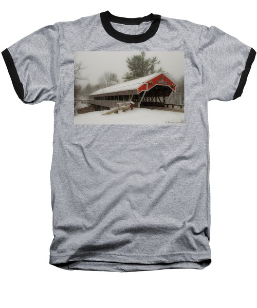 Jackson Nh Covered Bridge Baseball T-Shirt