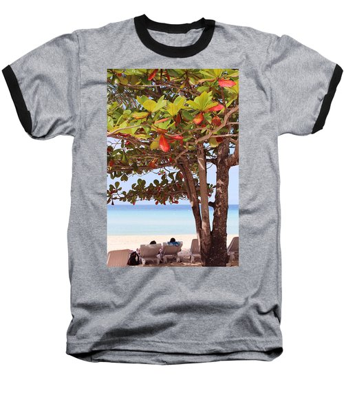 Jamaican Day Baseball T-Shirt