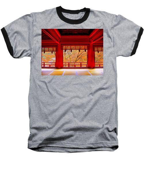 Japan Red Baseball T-Shirt