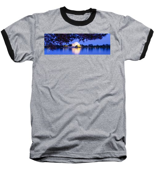 Jefferson Memorial, Washington Dc Baseball T-Shirt by Panoramic Images