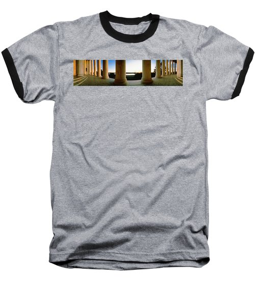 Jefferson Memorial Washington Dc Usa Baseball T-Shirt by Panoramic Images