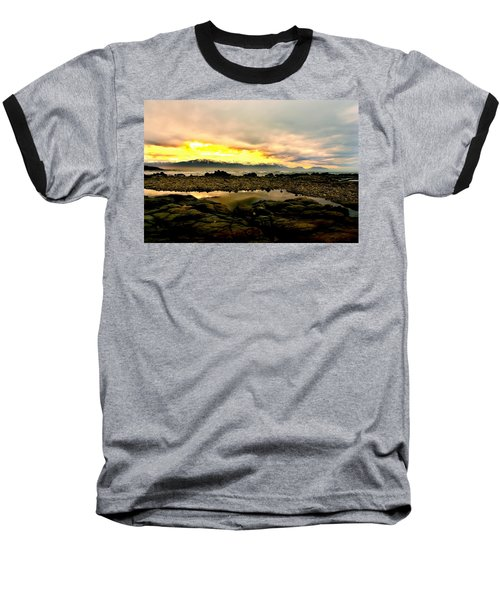Baseball T-Shirt featuring the photograph Kaikoura Coast New Zealand by Amanda Stadther