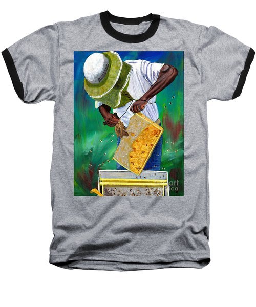 Keeper Of The Bees Baseball T-Shirt