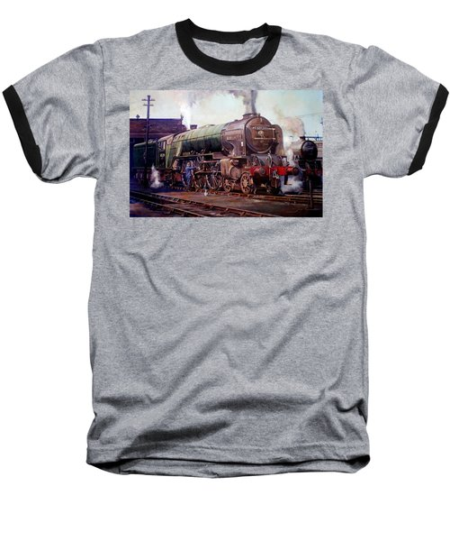 Kenilworth On Shed. Baseball T-Shirt by Mike  Jeffries