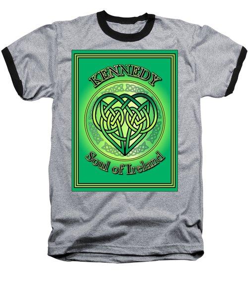 Kennedy Soul Of Ireland Baseball T-Shirt