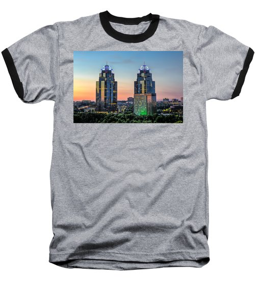 King And Queen Buildings Baseball T-Shirt