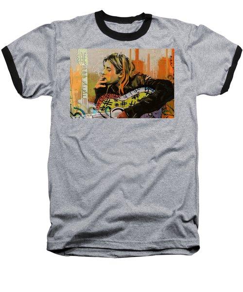 Kurt Cobain Baseball T-Shirt