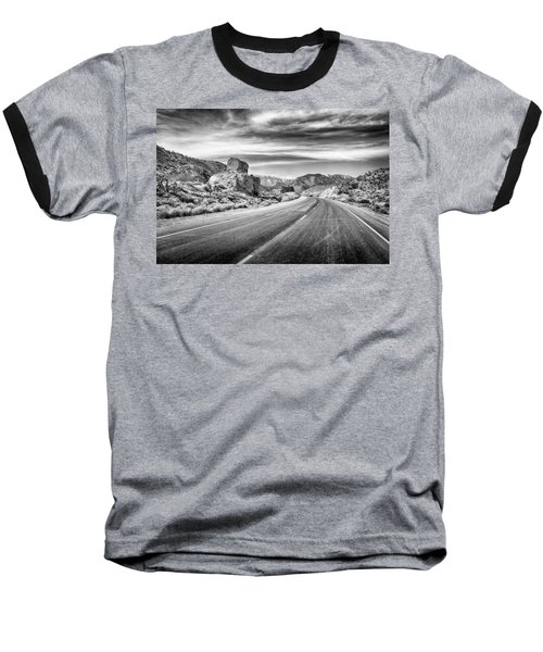 Baseball T-Shirt featuring the photograph Kyle Canyon Road by Howard Salmon