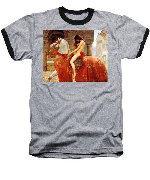 Lady Godiva Baseball T-Shirt