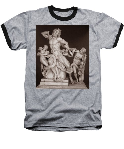 Laocoon And His Sons Baseball T-Shirt