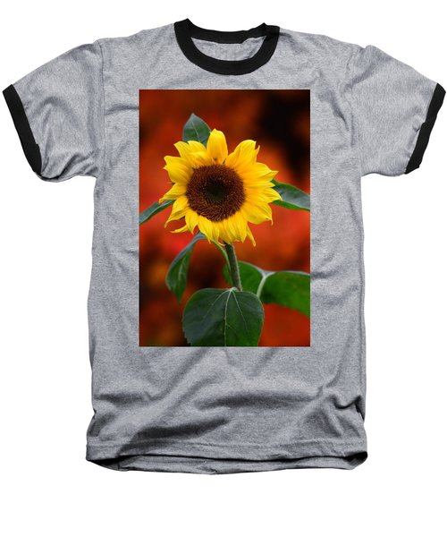 Last Sunflower Baseball T-Shirt