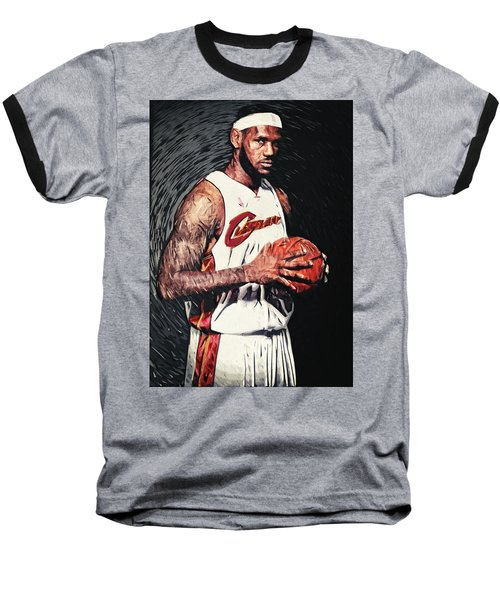Lebron James Baseball T-Shirt