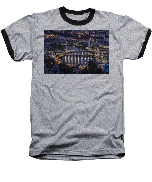 Lerez River Pontevedra Galicia Spain Baseball T-Shirt