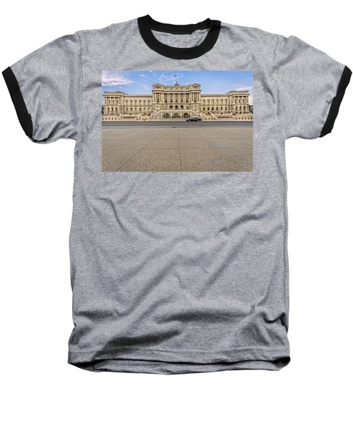 Baseball T-Shirt featuring the photograph Library Of Congress by Peter Lakomy
