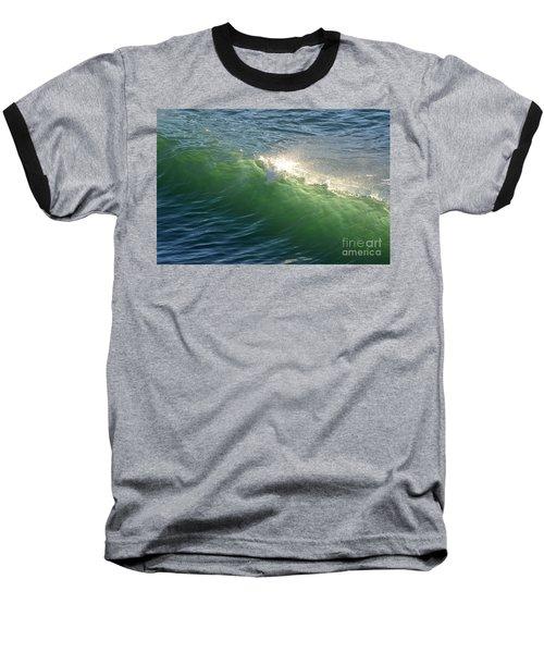 Linda Mar Beach - Northern California Baseball T-Shirt by Dean Ferreira