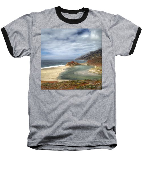Little Sur River In Big Sur Baseball T-Shirt