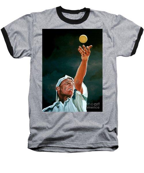 Lleyton Hewitt Baseball T-Shirt