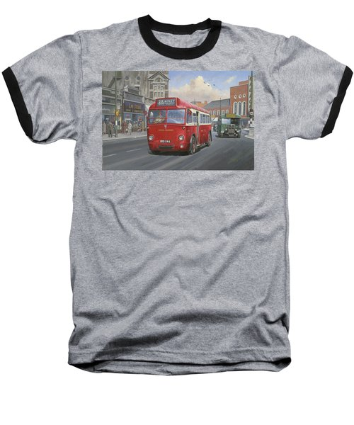 London Transport Q Type. Baseball T-Shirt by Mike  Jeffries
