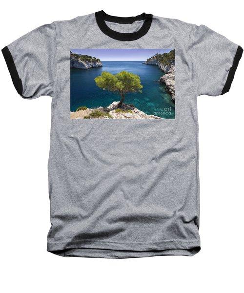Lone Pine Tree Baseball T-Shirt
