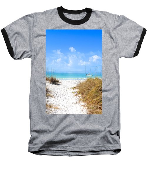 Anna Maria Island Escape Baseball T-Shirt by Margie Amberge